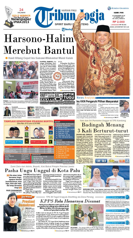 Tribunjogja 10 12 2015 By Tribun Jogja Issuu Produk Ukm Bumn Nomor Rumah Motif Apel