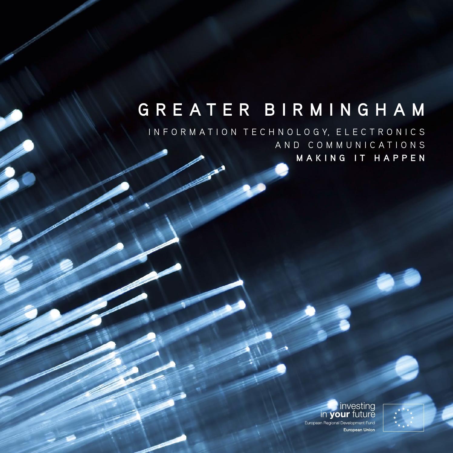 Greater Birmingham Information Technology, Electronics & Communications 2015