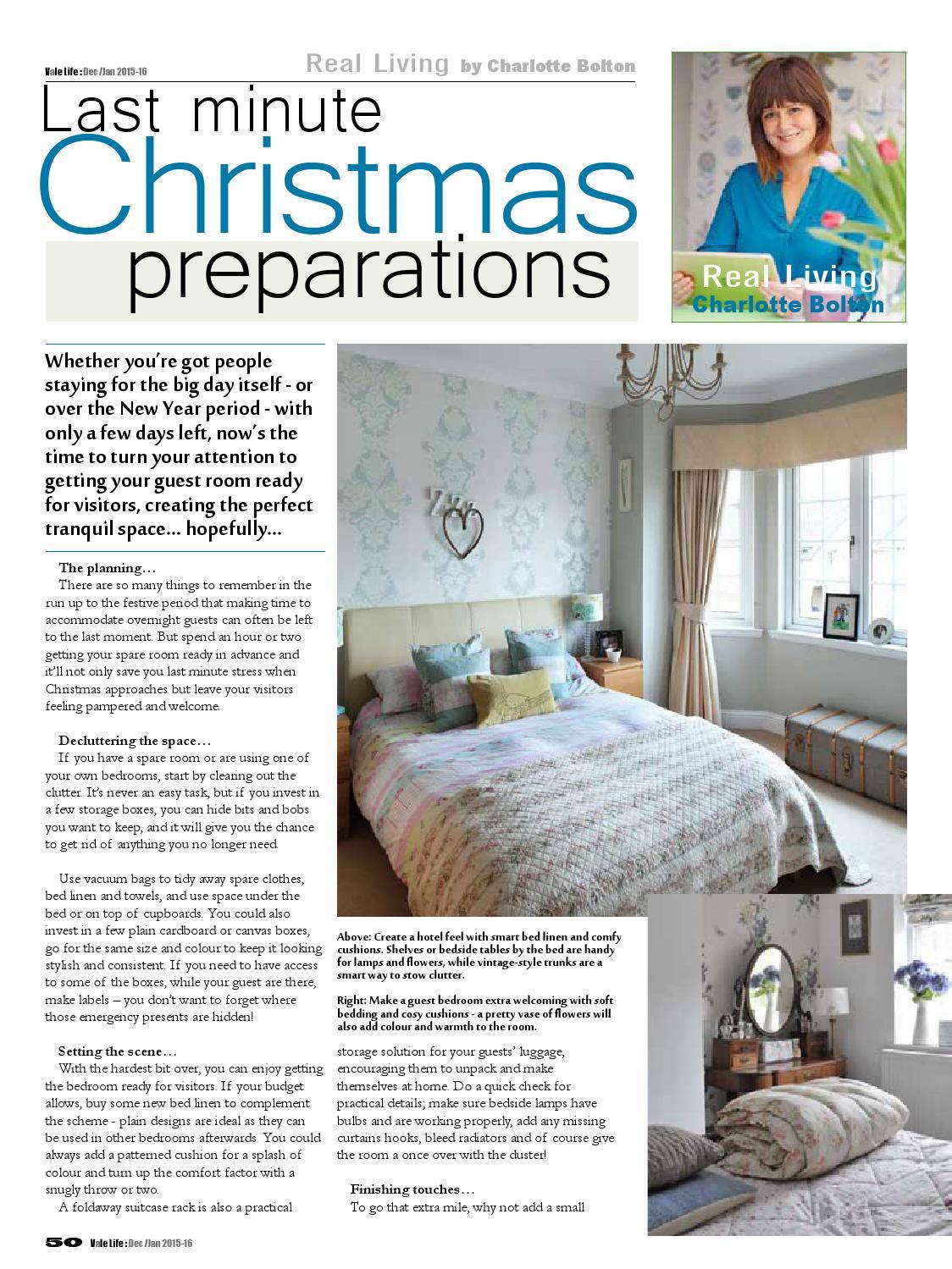 Vale Life Magazine Dec-Jan 2015 web edition by Charlie Trott