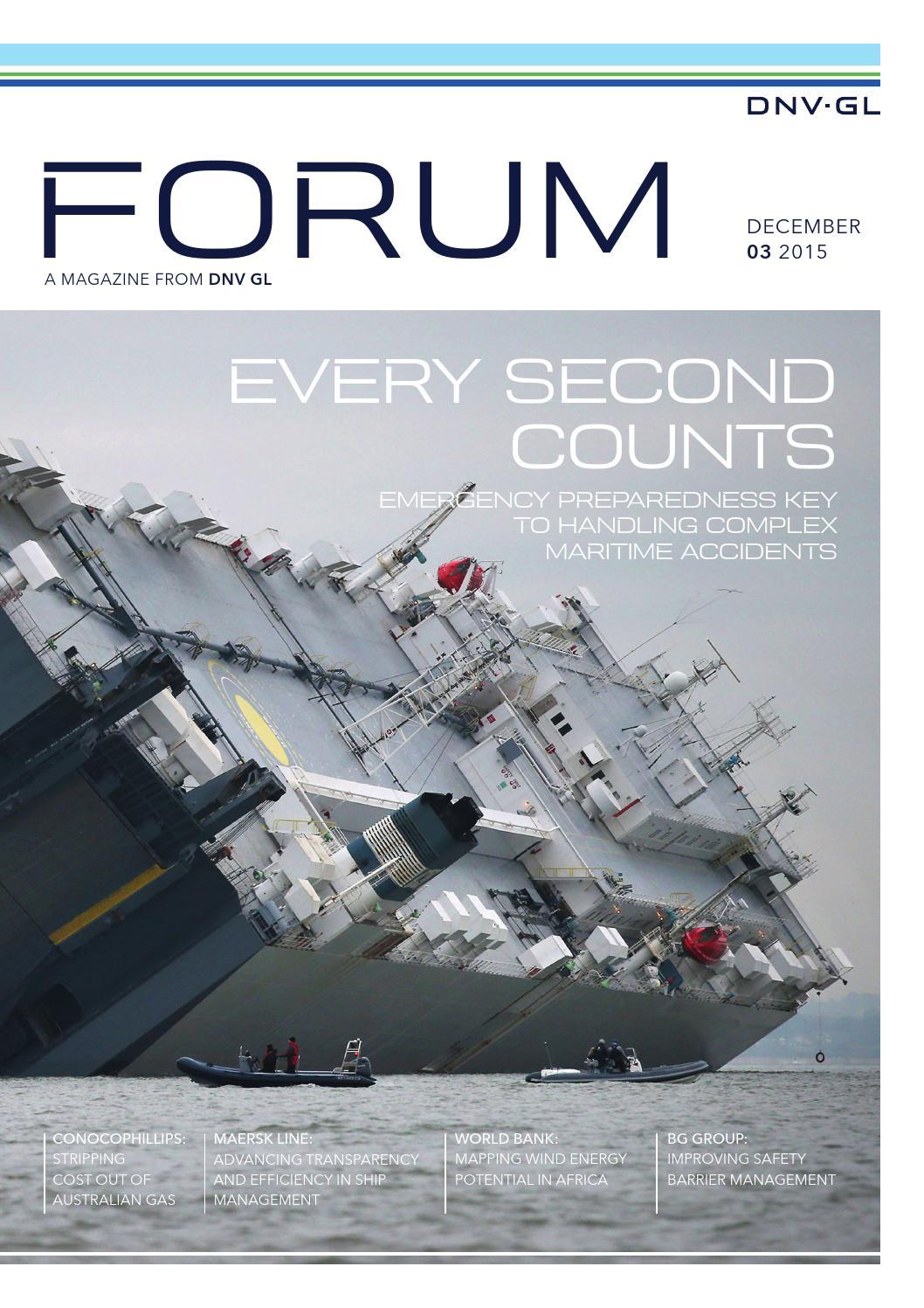 Forum 3 2015 By Dnv Gl Issuu Cascade 29 Boat Wiring Diagram