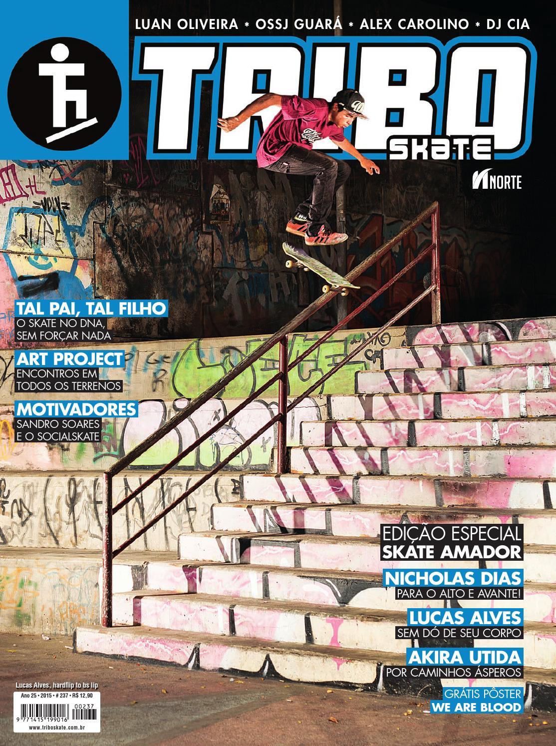 Tribo Skate  237 by Revista Tribo Skate - issuu c39b9035cd145