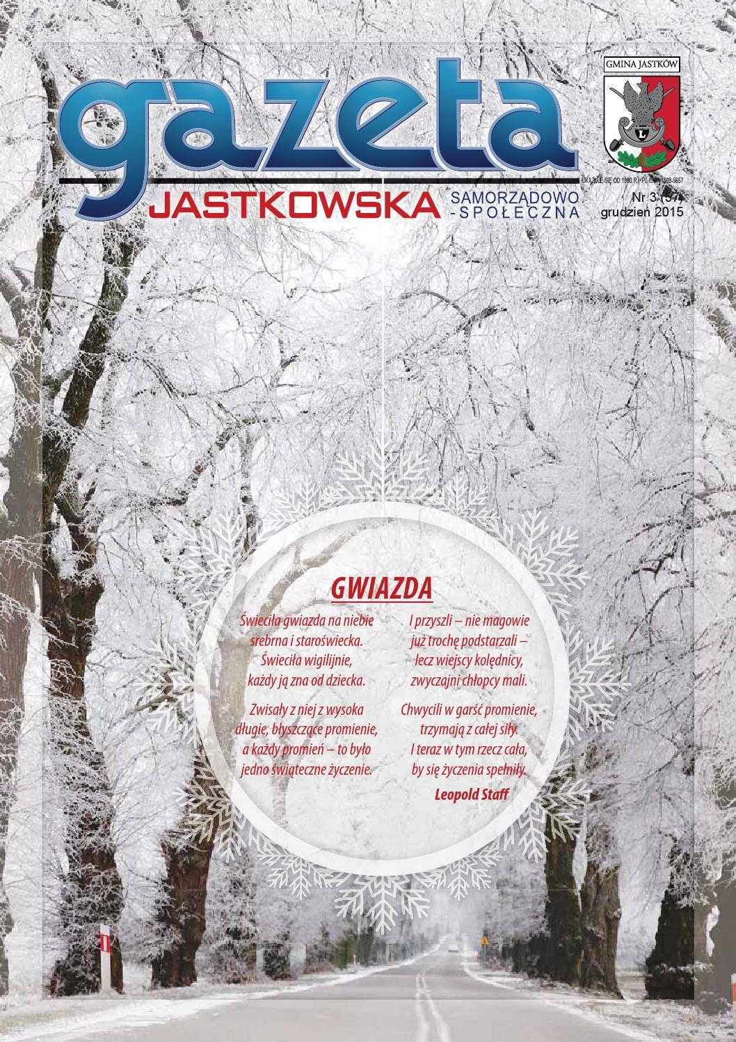 Gazeta Jastkowska Xii 15 By Ewa Dziadosz Issuu