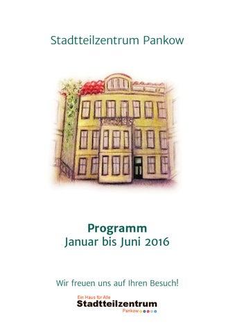 Stadtteilzentrum Pankow Programmheft für das 1. Halbjahr