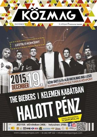 """Cover of """"KÖZMAG Középiskolások Magazinja - Karácsonyi Lapszám - 2015-12 – Békéscsaba"""""""