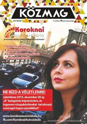 """Cover of """"KÖZMAG Középiskolások Magazinja - Karácsonyi Lapszám - 2015-12 – Debrecen"""""""