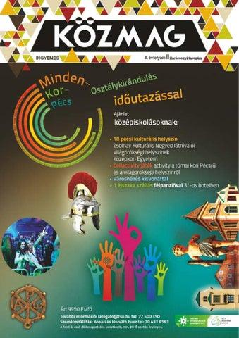 """Cover of """"KÖZMAG Középiskolások Magazinja - Karácsonyi Lapszám - 2015-12 – Miskolc"""""""