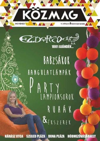 """Cover of """"KÖZMAG Középiskolások Magazinja - Karácsonyi Lapszám - 2015-12 – Szeged"""""""
