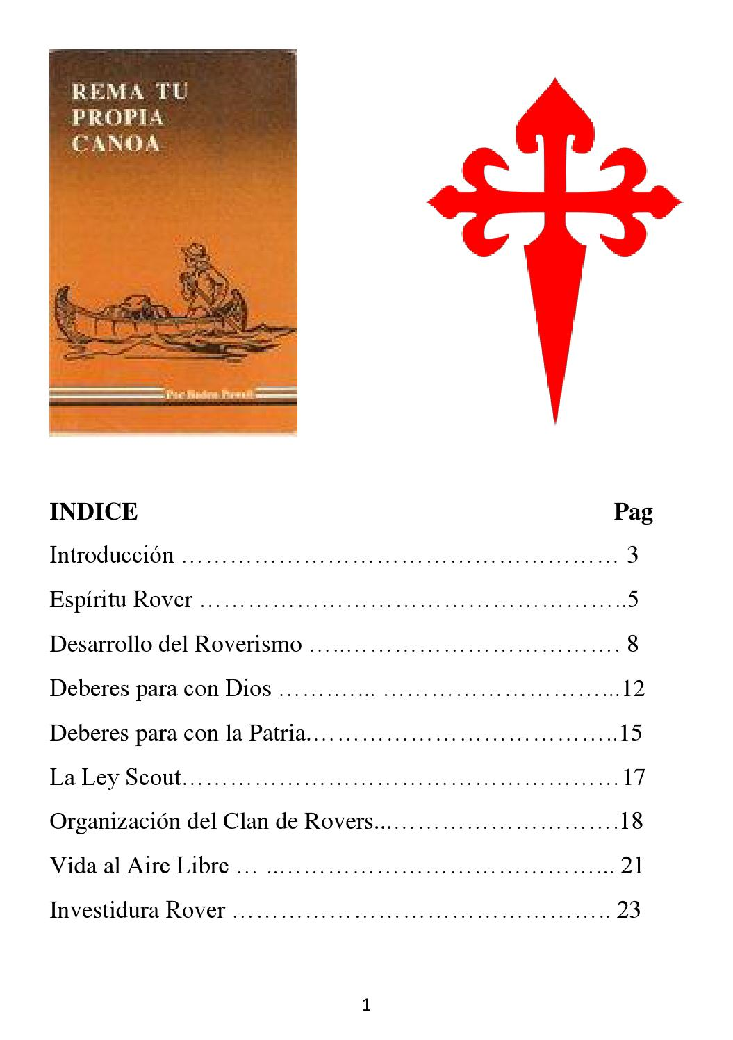Rover Scout (Libro Primero) by MSCM - issuu