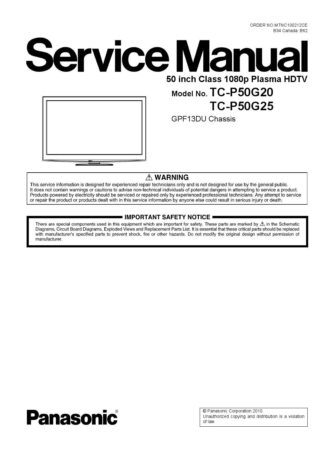 Plasma Tv Manual 2005 Lg 50 Inch Screen Circuit Boards In Back Of Array Panasonic Rh Apnmata