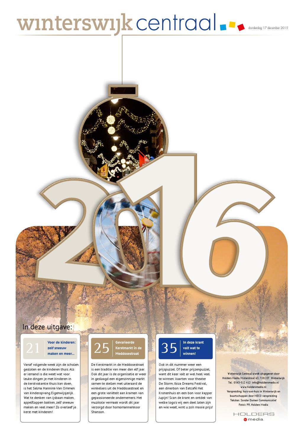 aa5f0e524ad Winterswijk centraal december 1215 by Holders Media - issuu