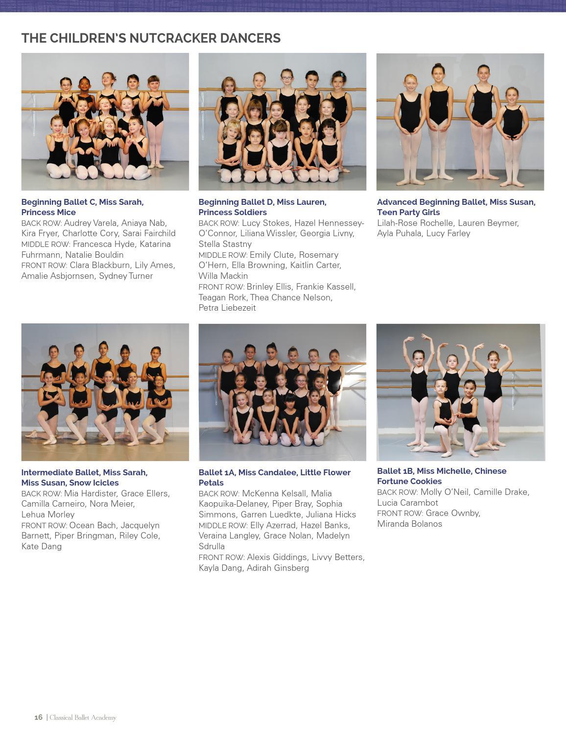 The Nutcracker - Classical Ballet Academy by Artslandia - issuu