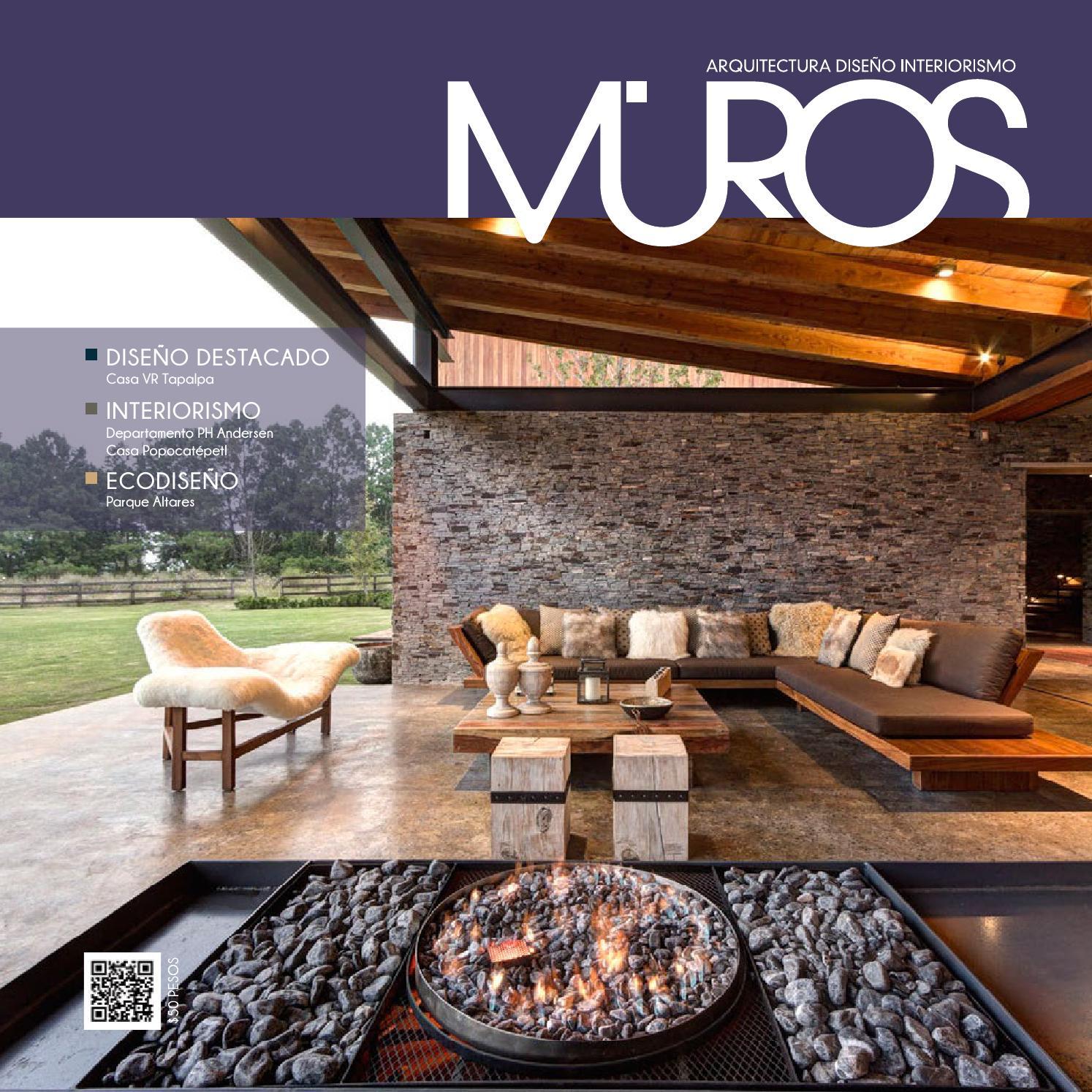 Edici n 20 revista muros arquitectura dise o for Revista habitat arquitectura diseno interiorismo