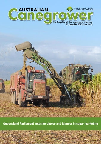australian canegrower 21 december 2015 by canegrowers issuu rh issuu com