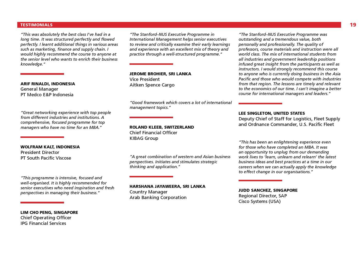 Nus Executive Education Programmes   By Nus Business School Issuu