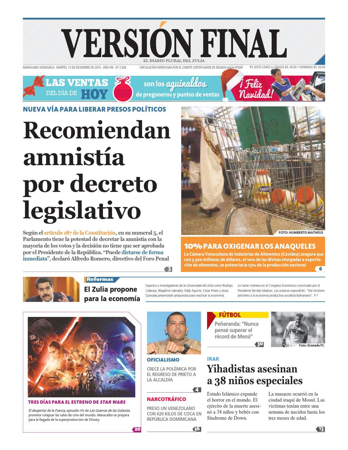 Diario Versión Final by Diario Versión Final - issuu 6df333f0c7c