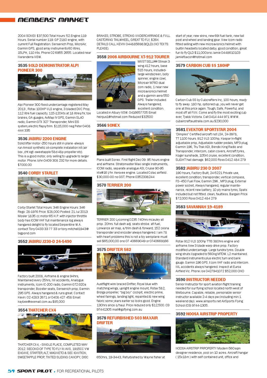 Sport pilot 31 feb 2014 by Recreational Aviation Australia