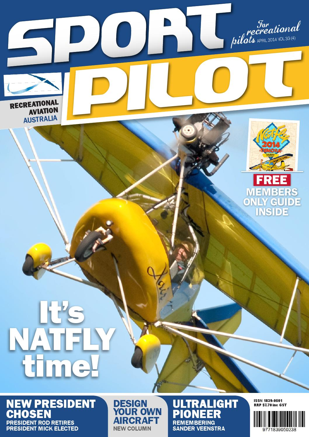Sport pilot 33 apr 2014 by Recreational Aviation Australia