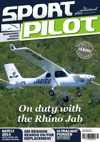 Sport pilot 35 jun 2014 by Recreational Aviation Australia