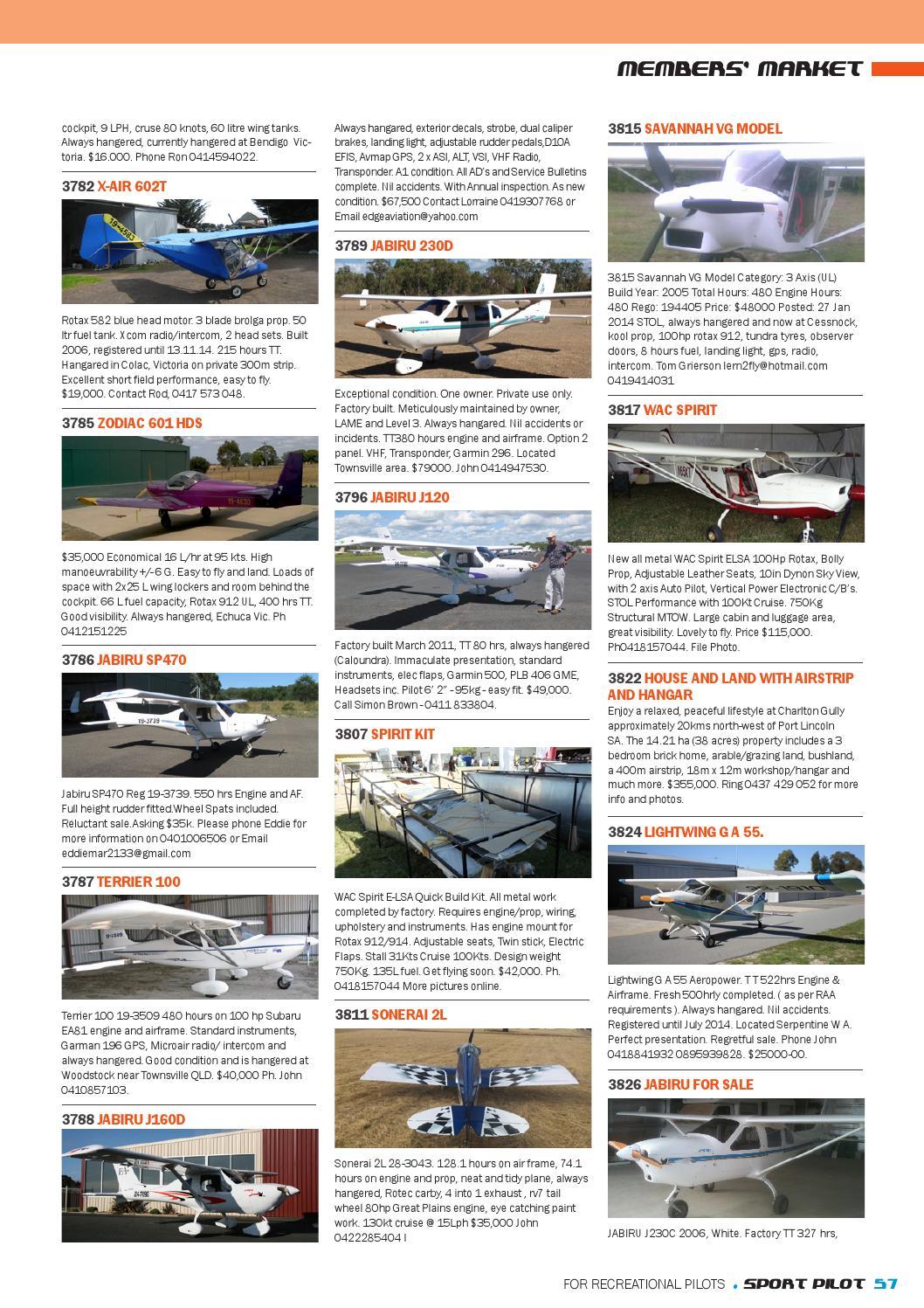 Sport pilot 35 jun 2014 by Recreational Aviation Australia