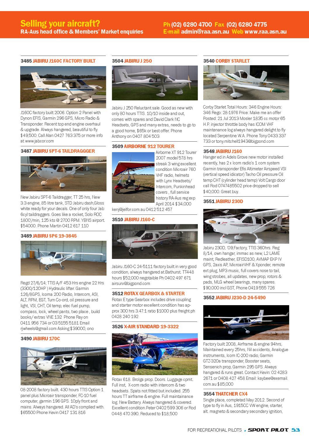 Sport pilot 36 jul 2014 by Recreational Aviation Australia
