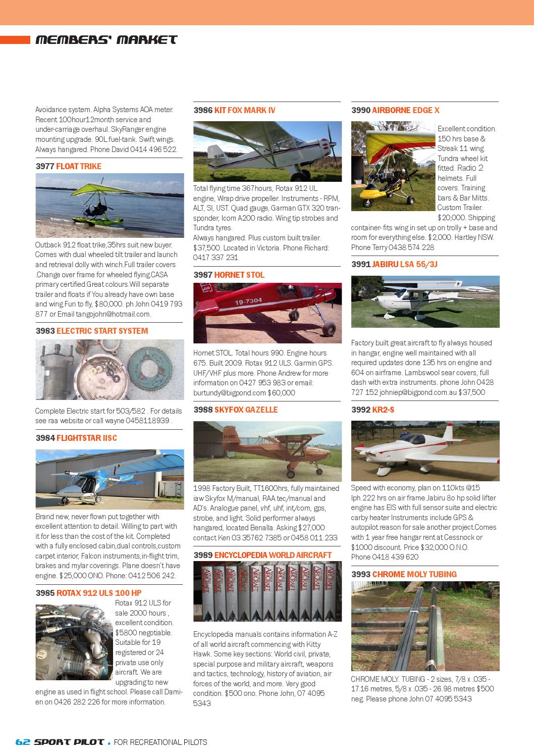 Sport pilot 36 jul 2014 by Recreational Aviation Australia