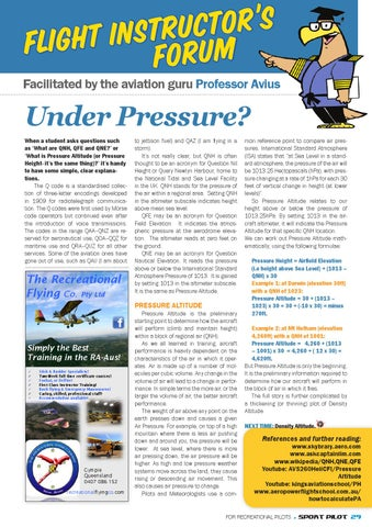 Sport pilot 37 aug 2014 by Recreational Aviation Australia