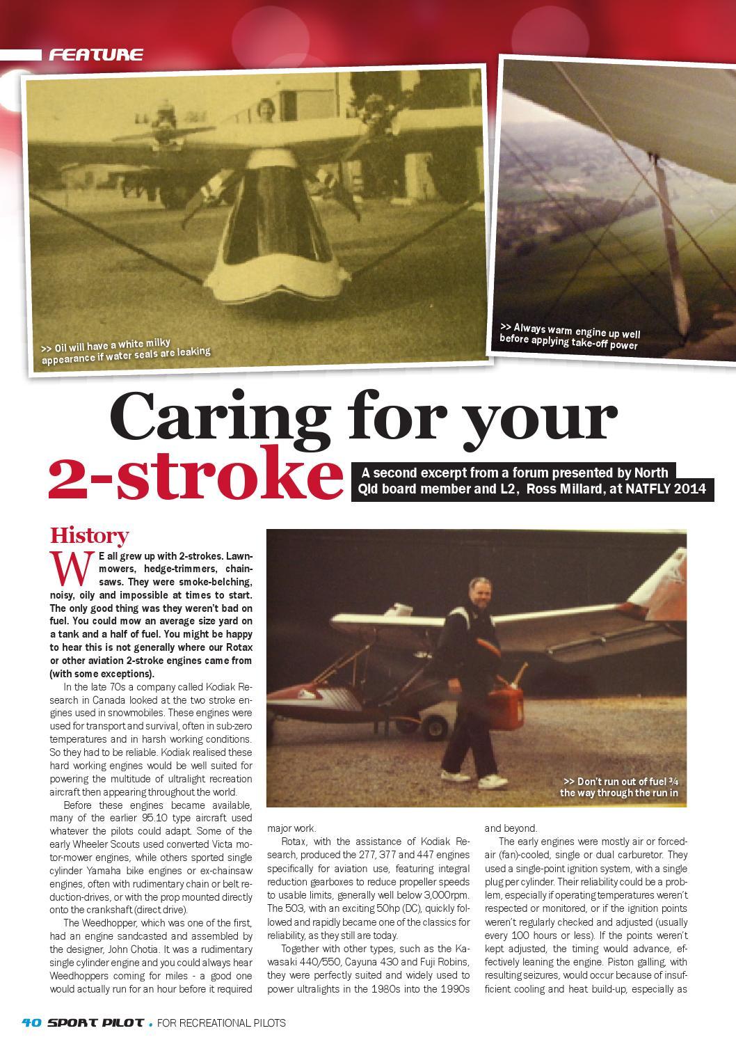 Sport pilot 38 sep 2014 by Recreational Aviation Australia