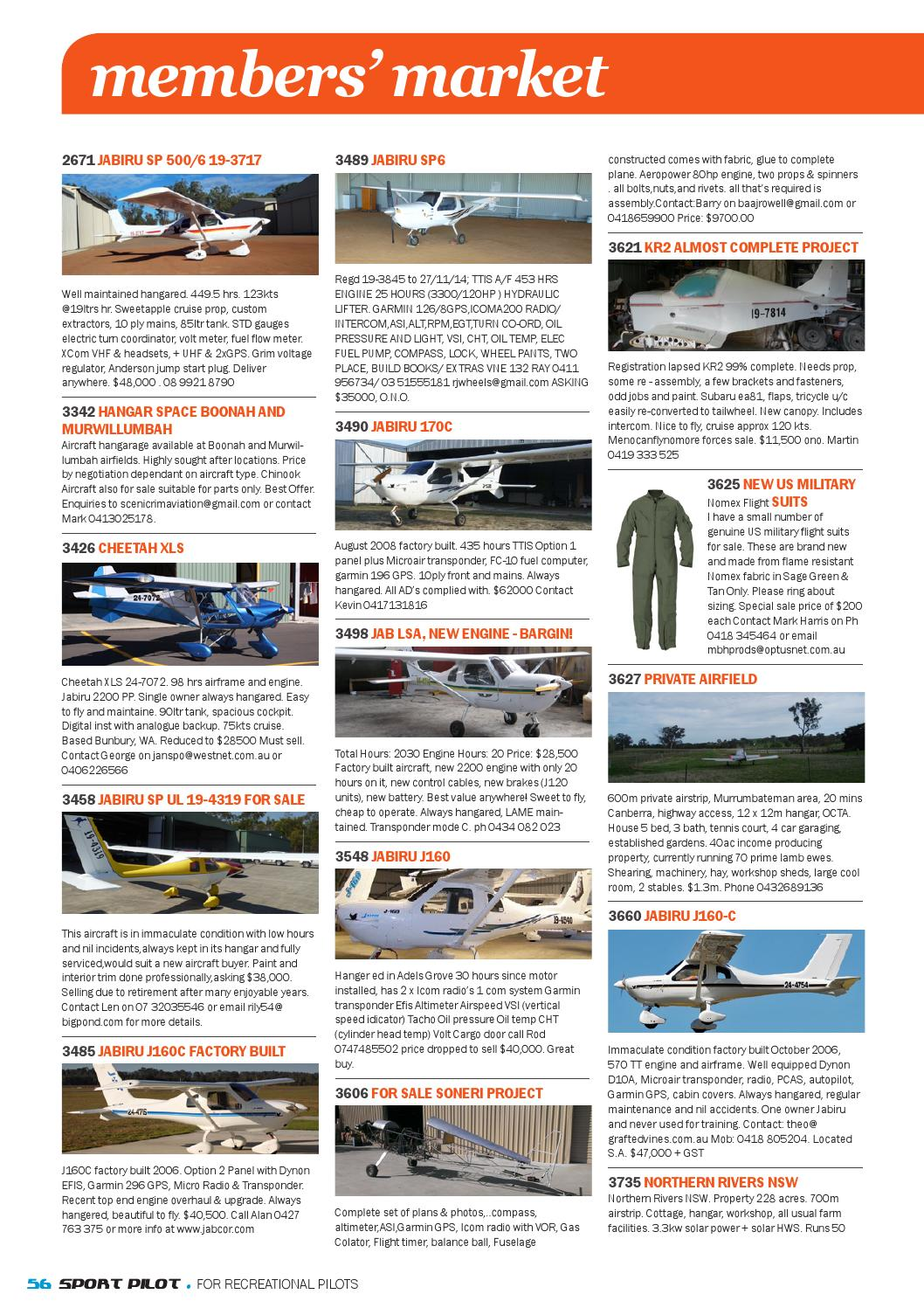Sport pilot 40 nov 2014 by Recreational Aviation Australia