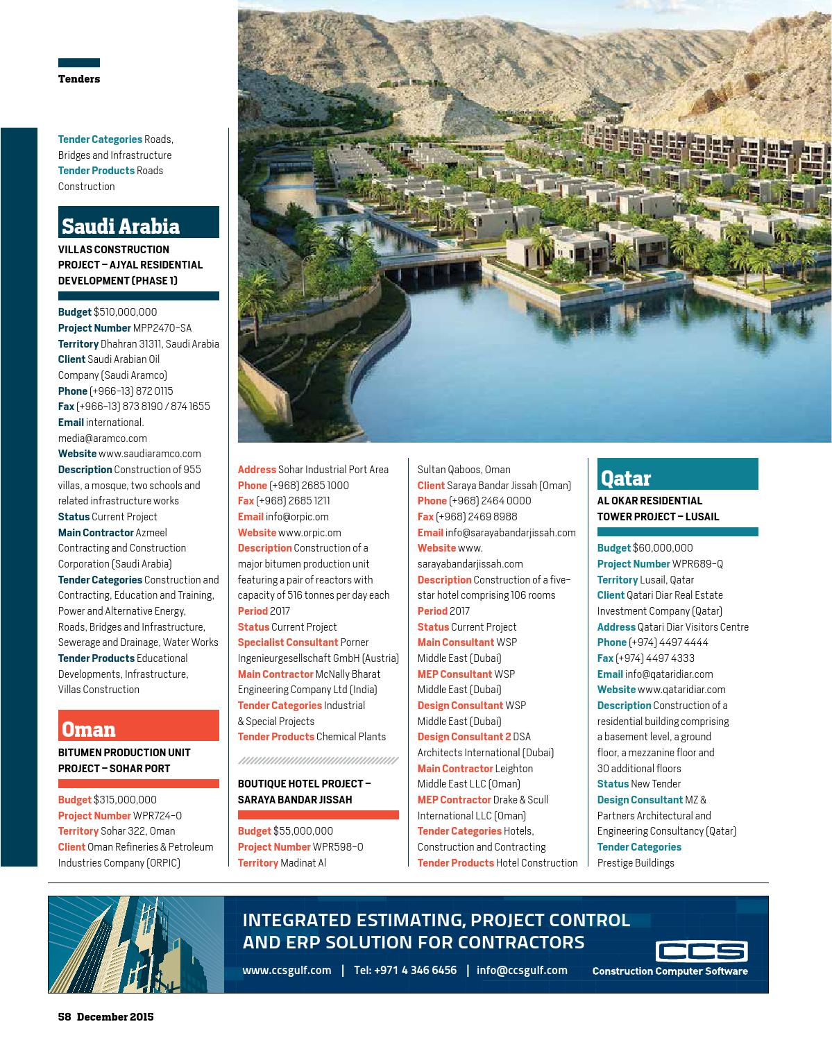 Big Project ME December 2015 by Big Project Middle East - issuu