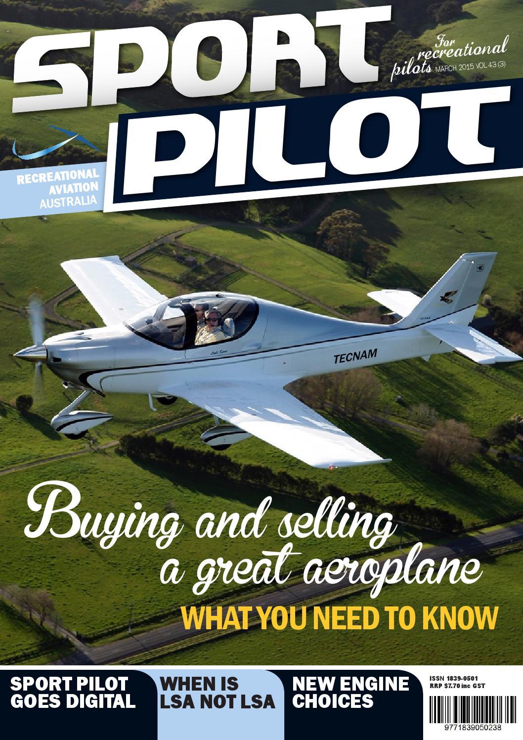 Sport pilot 43 mar 2015 by Recreational Aviation Australia