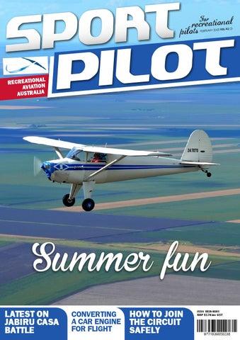 sport pilot 42 feb 2015 by recreational aviation australia issuu rh issuu com Instructor Training Manual Sample Instructor Manual