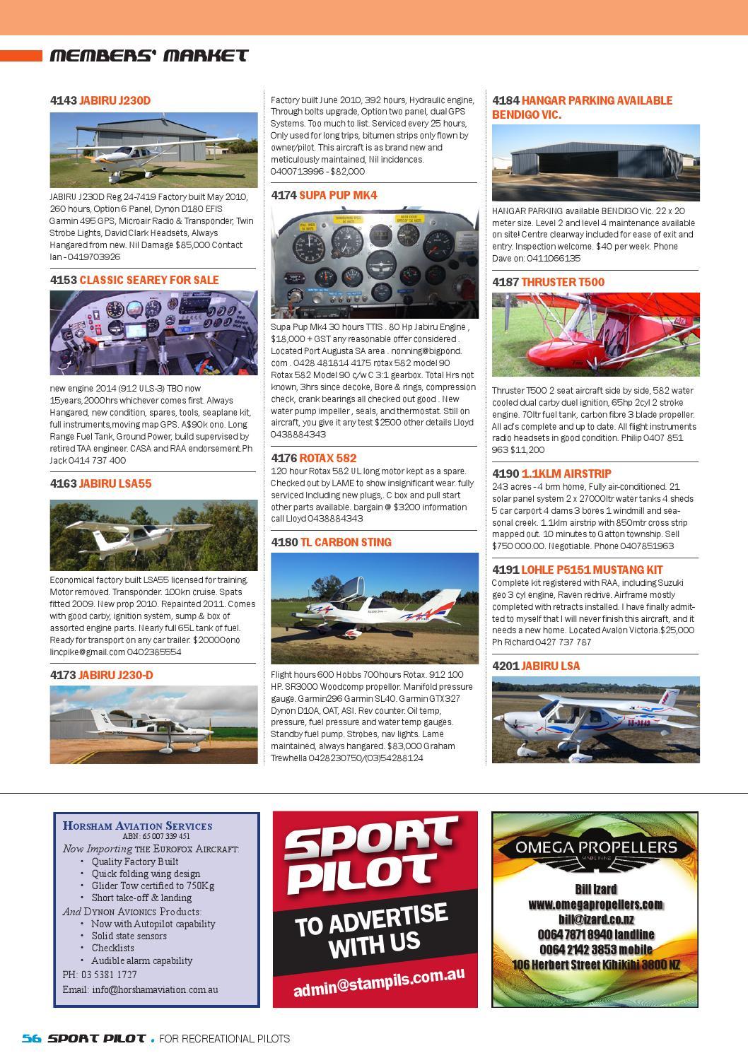 Sport pilot 42 feb 2015 by Recreational Aviation Australia