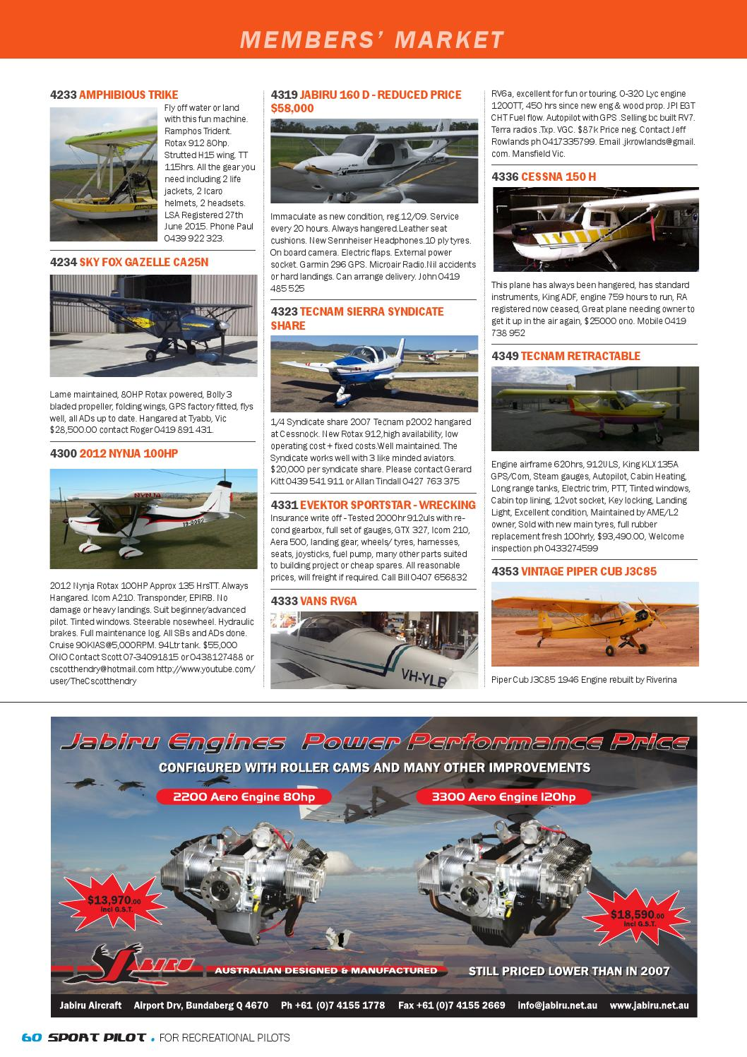Sport pilot 44 apr 2015 by Recreational Aviation Australia