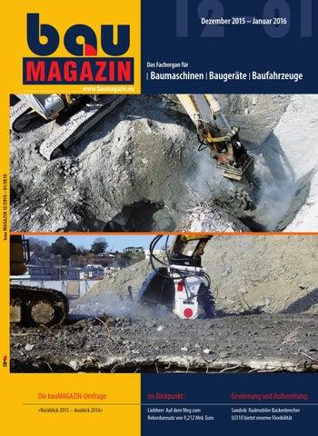fachorgan Für Baumaschinen Baumagazin Juni 2010 Preisnachlass