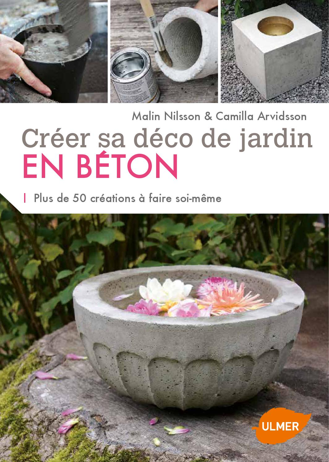 extrait cr er sa d co de jardin en b ton ditions ulmer by ditions ulmer issuu. Black Bedroom Furniture Sets. Home Design Ideas