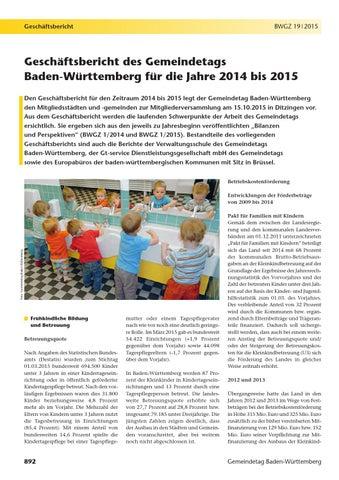 Geschäftsbericht 2013-2015 by Bernd Glasstetter - issuu