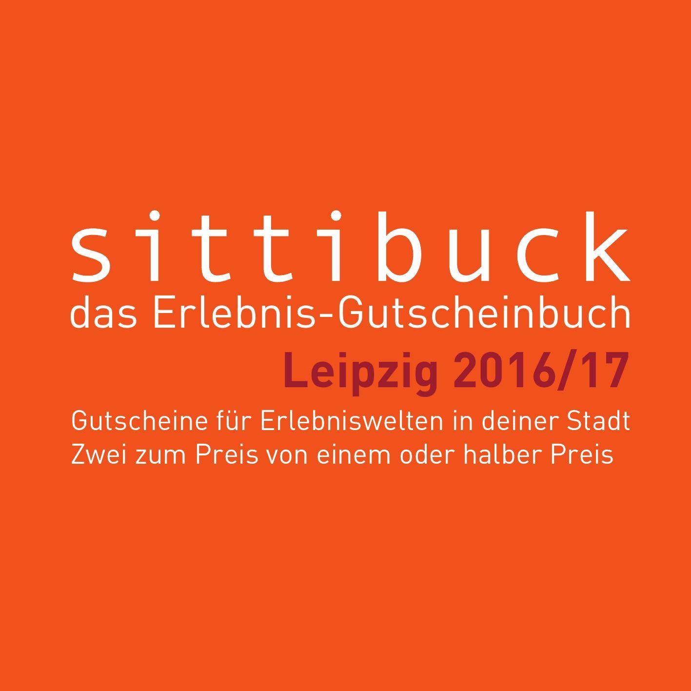 Bodystreet Preise 10er Karte.Sittibuck 2016 17 Das Erlebnis Gutscheinbuch Für Leipzig By