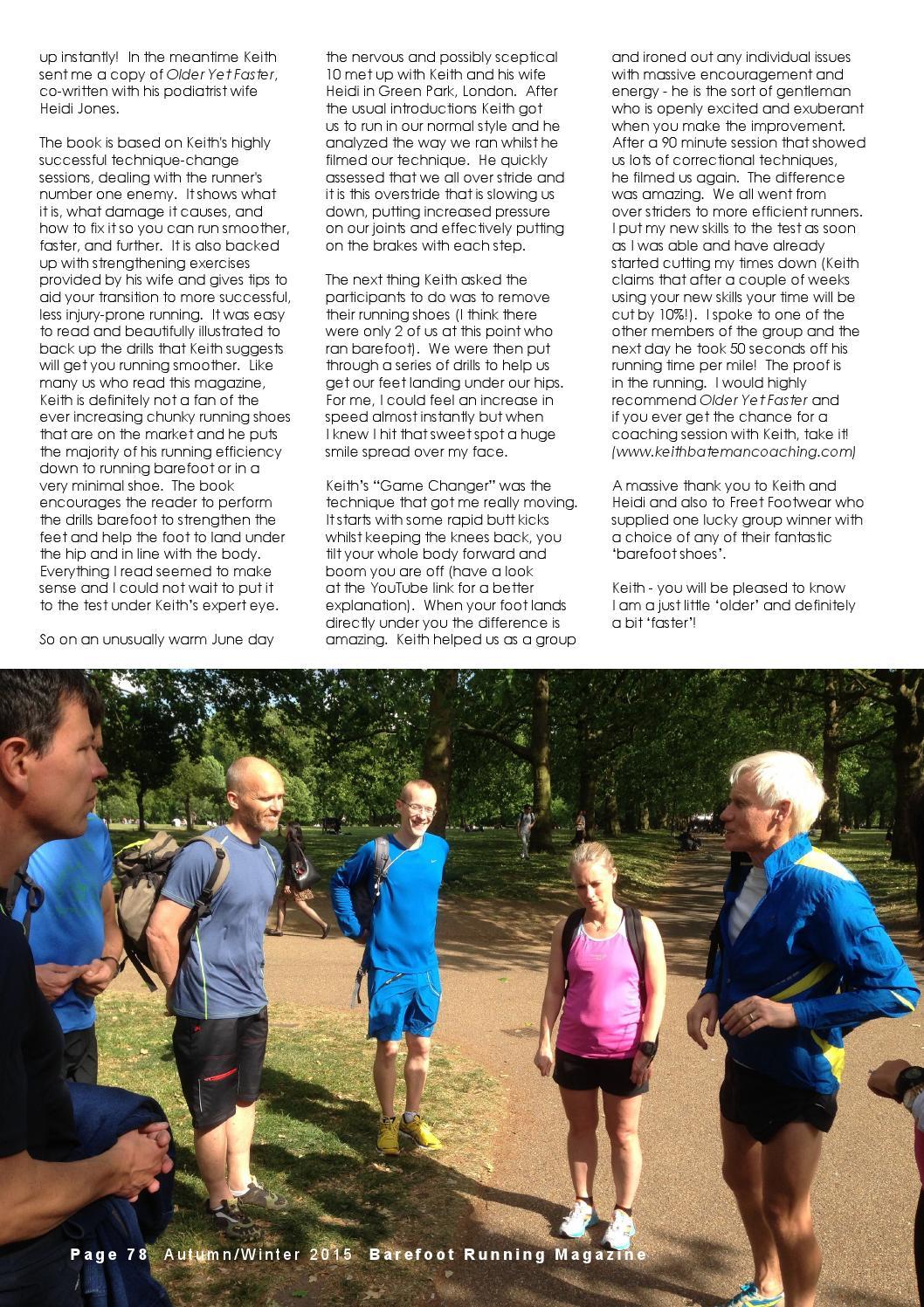 Barefoot Running Magazine Issue 15 (AutumnWinter 2015) by