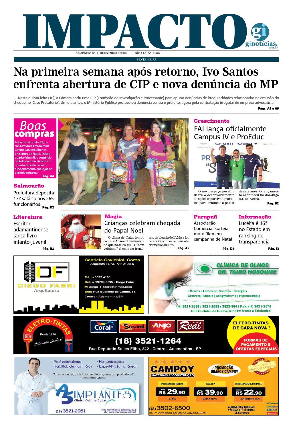 6e6b365a4f Jornal impacto 11 12 2015 by IMPACTO - issuu