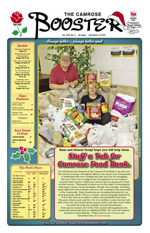 December 15 2015 camrose booster by the camrose booster issuu page 1 publicscrutiny Image collections