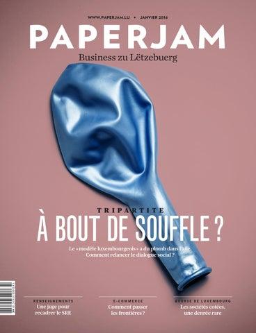 Paperjam Janvier 2016 by Maison Moderne - issuu 3657bdea10d4