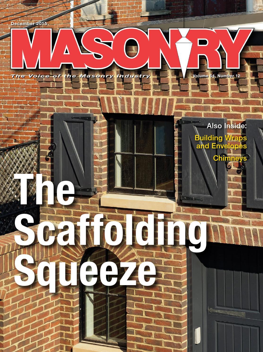 masonry december 2015 by lionheart publishing inc issuu