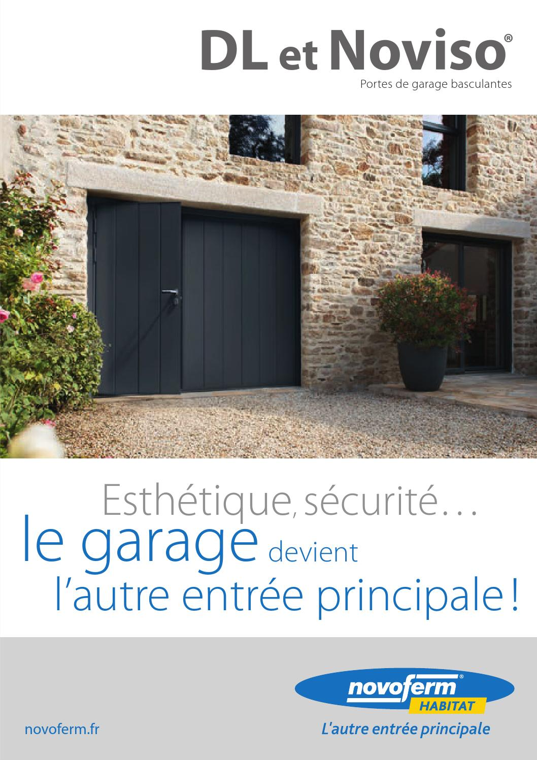 Portes de garage basculantes by beaulieu menuiseries issuu for Porte de garage b plast