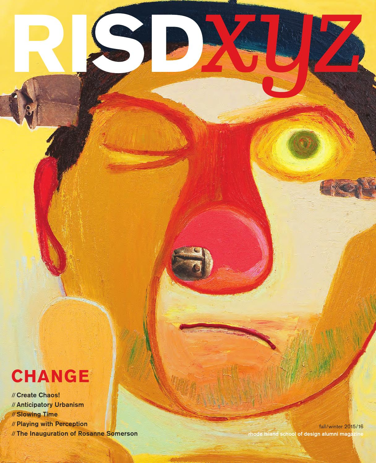 RISD XYZ Fall/Winter 2015/16 by Rhode Island School of