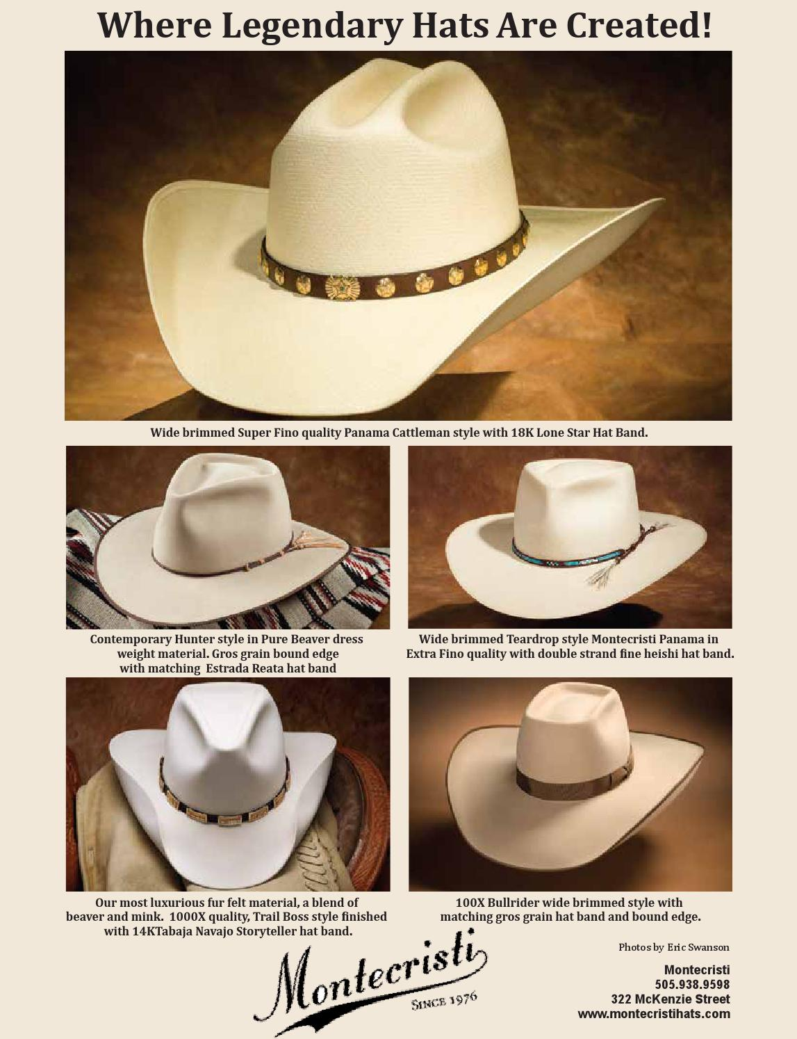 0c8122450 Montecristi Custom Hat Works by Fine Lifestyles - issuu