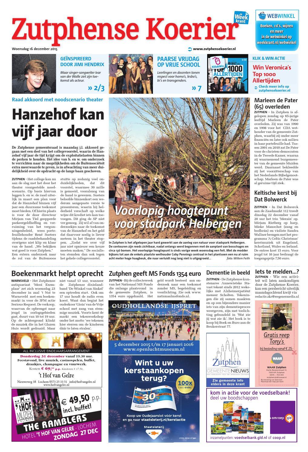 zutphense koerier week51 by wegener issuu