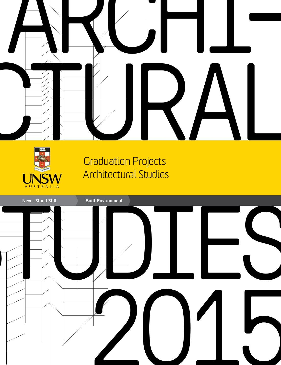 Architectural Studies Graduation Catalogue By Unsw Built Environment Index Of Schematics Byfunction Tone Control Passivetonecontrol Issuu