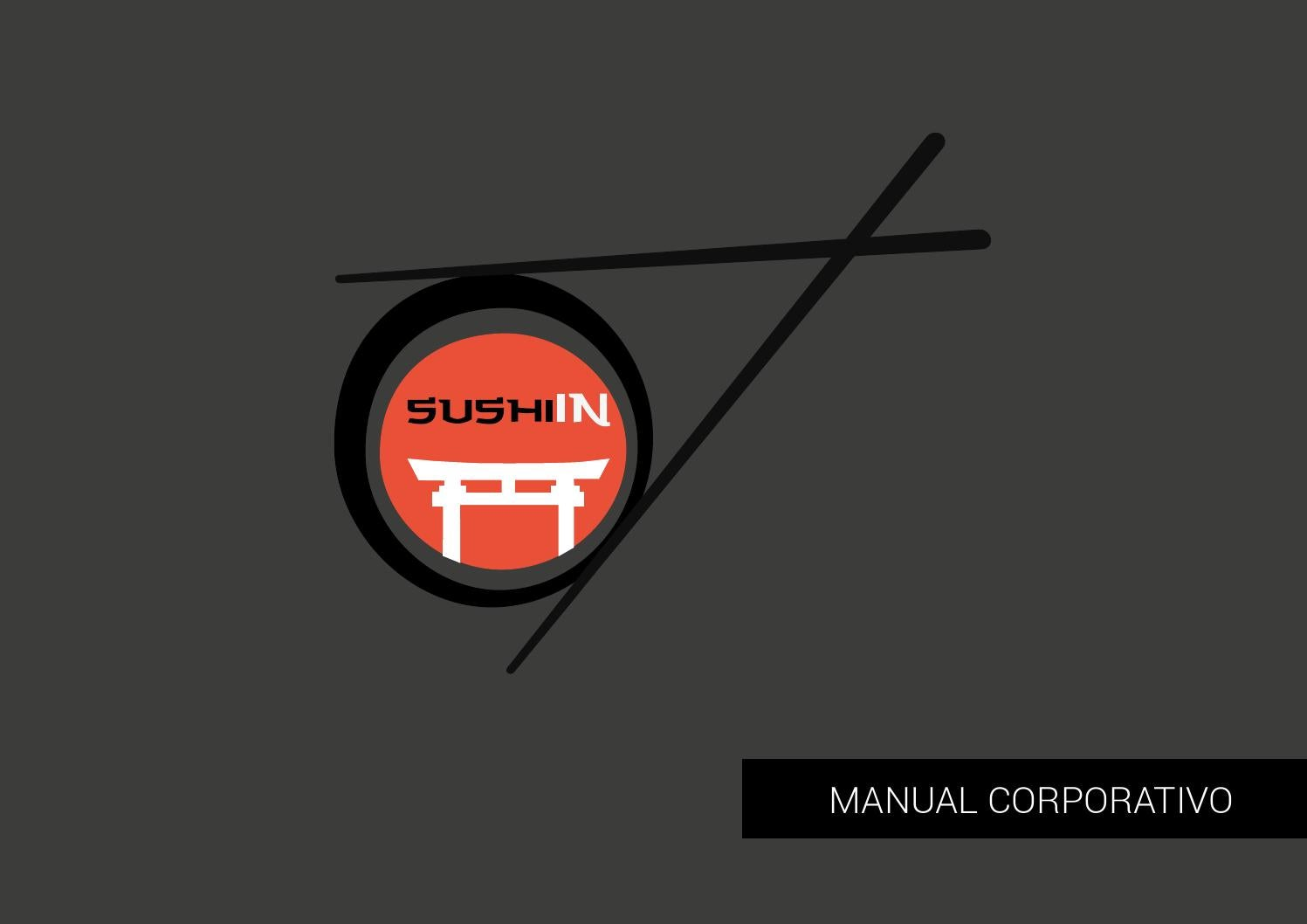 Manual de identidad corporativa Sushi In by Tanya Macarena - issuu