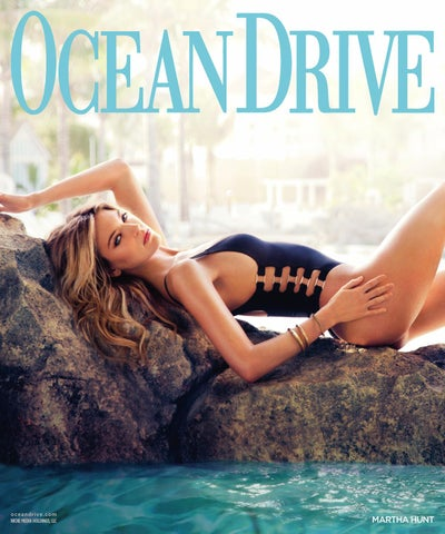 3bd78194526 Ocean Drive - 2015 - Issue 6 - July+August - Martha Hunt by MODERN ...