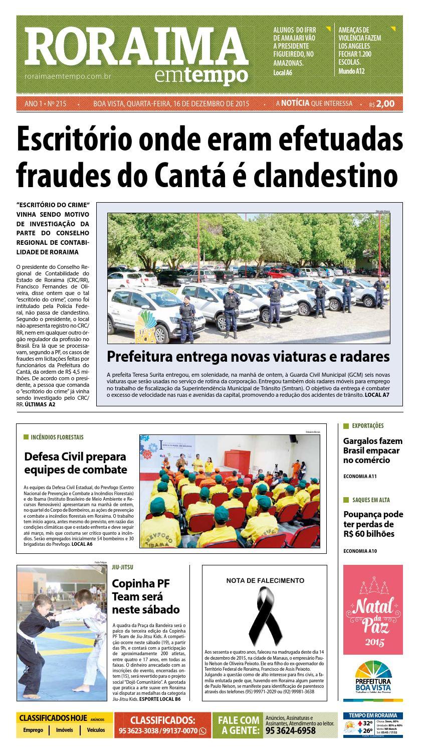 04c720c4bee Jornal roraima em tempo – edição 215 – período de visualização gratuito by  RoraimaEmTempo - issuu